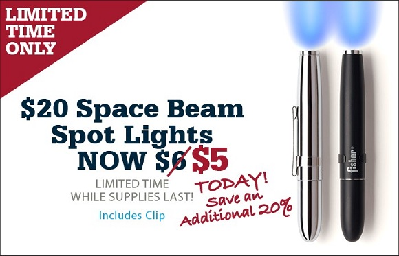 $6 Space Beam Spot Light